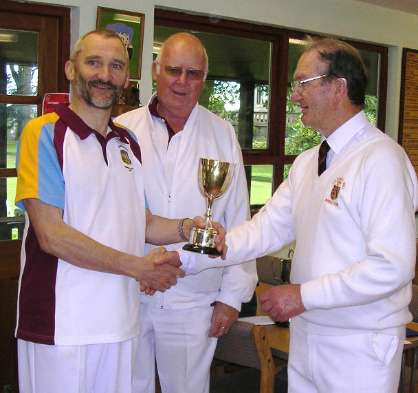 Bowlers with trophy