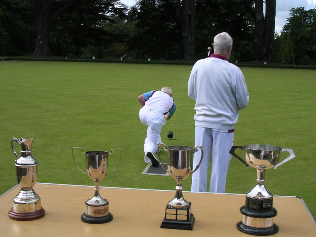Bowlers and trophies