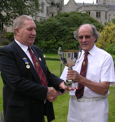 Keith Reynard - Cyril Davies Cup Winner 2012