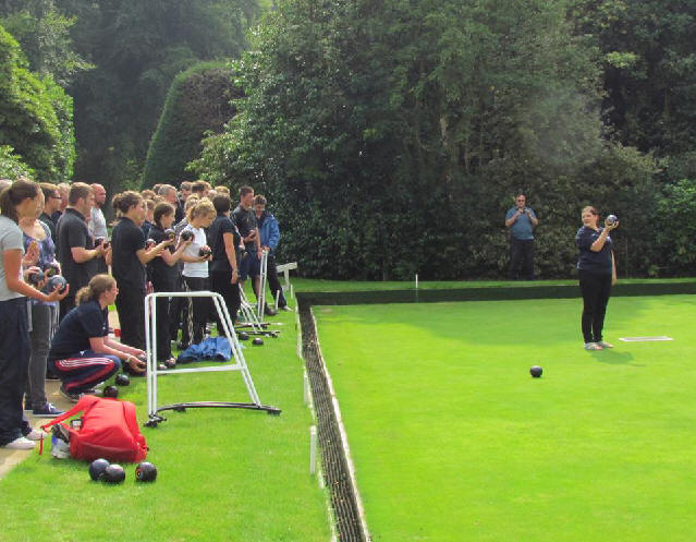 archers bowling at Lilleshall