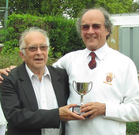bowler with award
